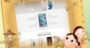 Mobile Camera Apps Landing Page Template