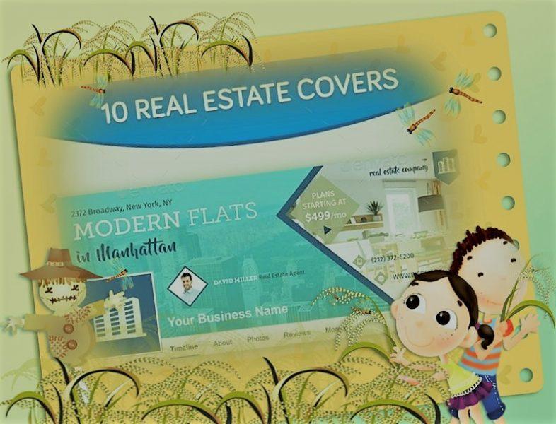Download 10 Facebook Cover & 10 Instagram Real Estate Post Free