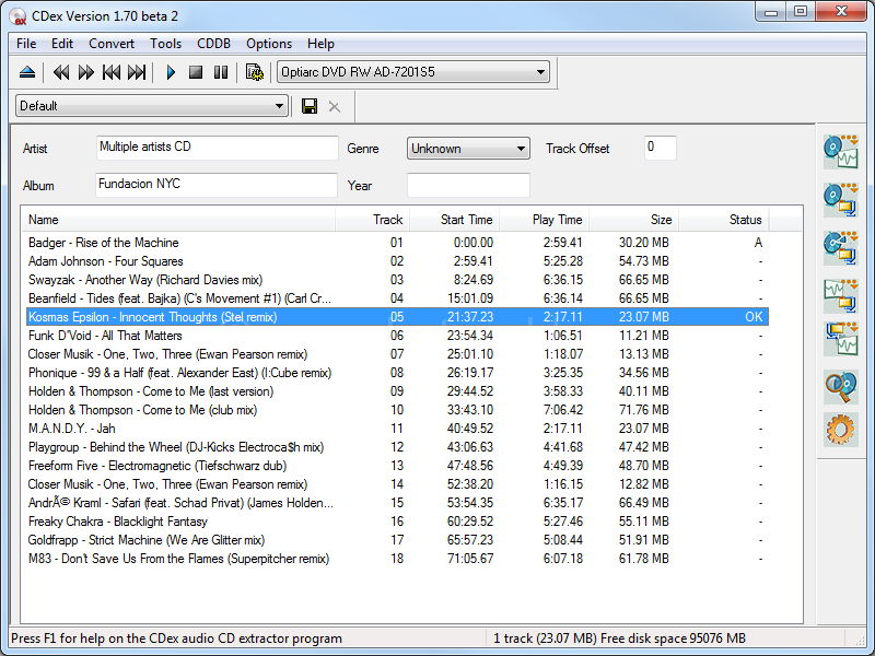 Dowmload CDex Software For Windows Free