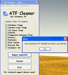 Download ATF Cleaner For Windows Free Software