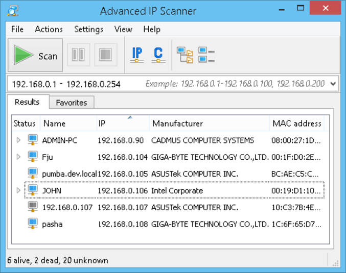 Download Advanced IP Scanner For Windows Free