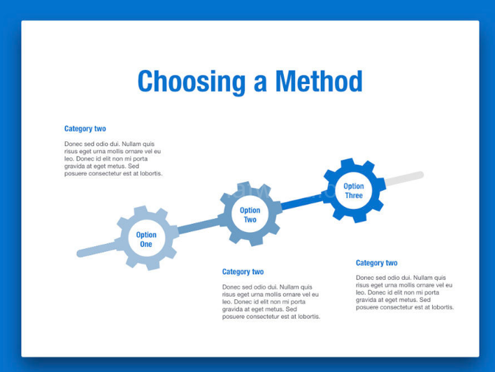 Download Blue PowerPoint Template Free