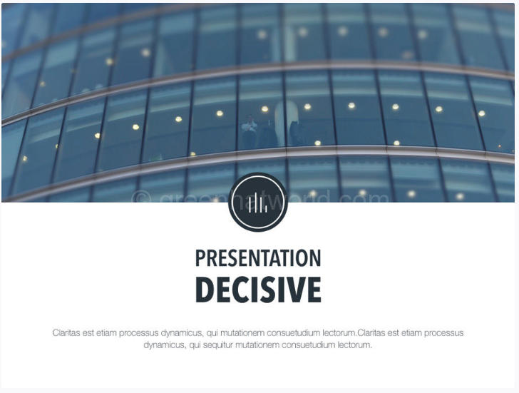 Download Decisive PowerPoint Presentation Template Free