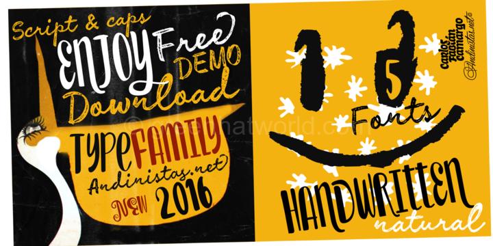 Download Enjoy Font Family Free