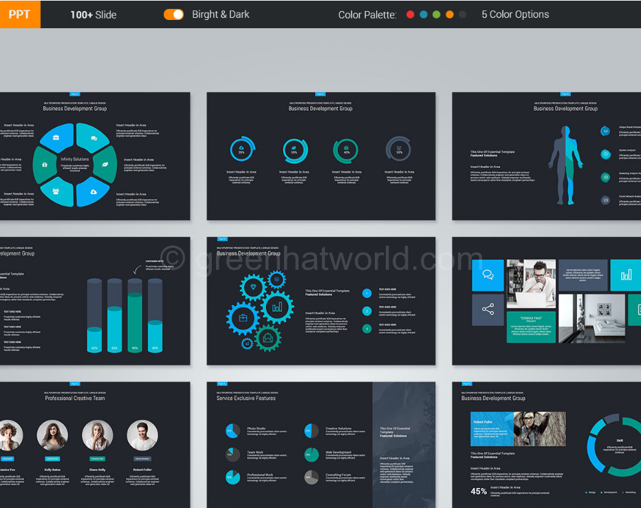 Download Fabulous PowerPoint Presentation Template Free