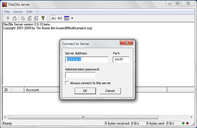 Download FileZilla Server Software For Windows Free