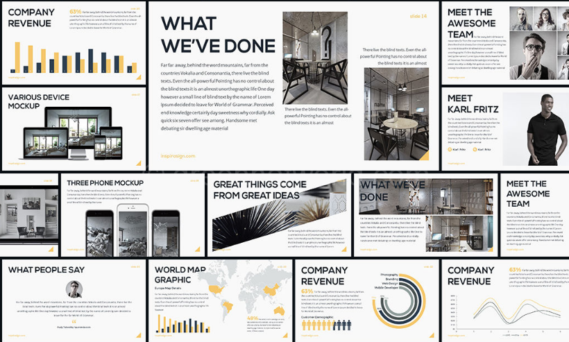 Final Project Presentation Template Free Download