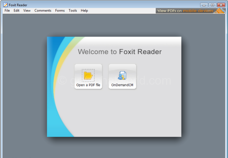 Download Foxit Reader Software For Windows Free