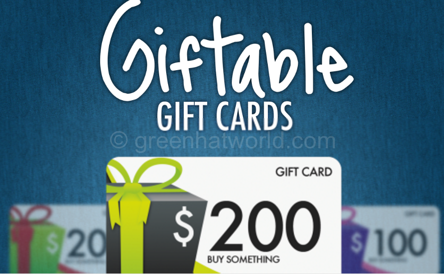 Download Giftable Gift Cards PSD Free