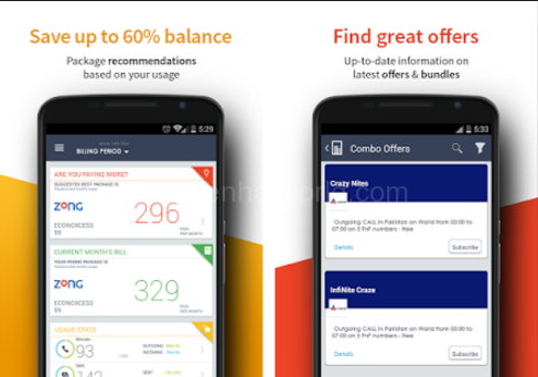 Download Intellistats Call & SMS Stats App For Android Free