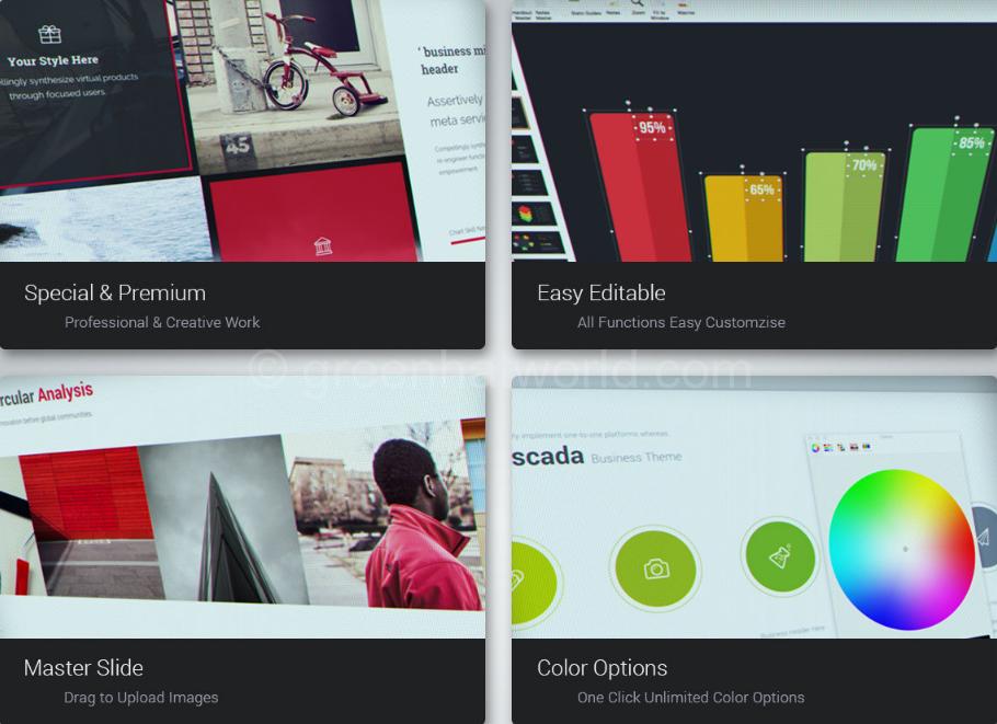 Download Minimal & Creative Presentation Template Free