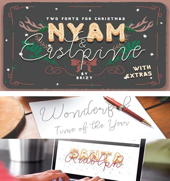 Download NYAM & Eastpine Fonts Free