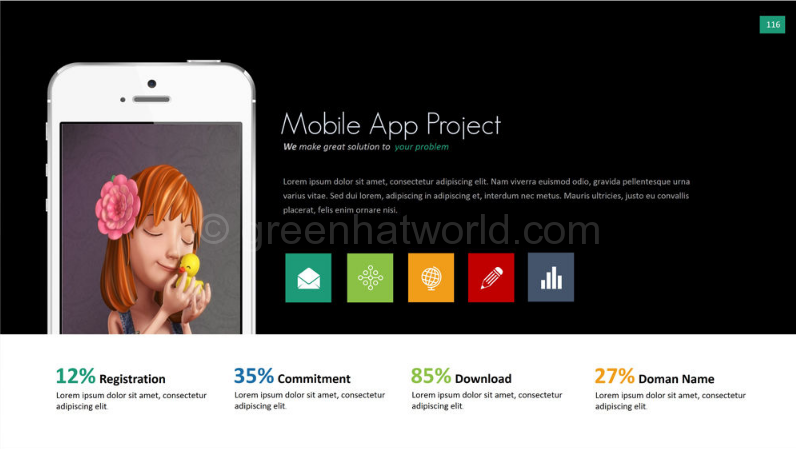 Download Report PowerPoint Presentation Template Free