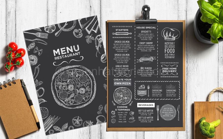 Download Restaurant Food Menu PSD Free