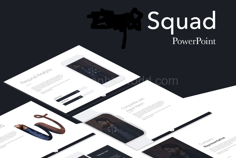 Download Squad Business Presentation Template Free