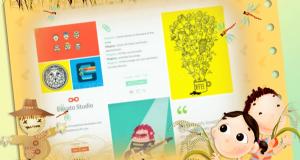 Grid Tumblr Blogging Theme