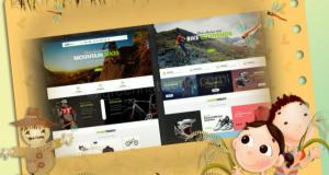 Mountain Bikes OpenCart Theme