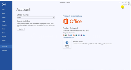 Download Microsoft Office Professional 2013 For Windows Free