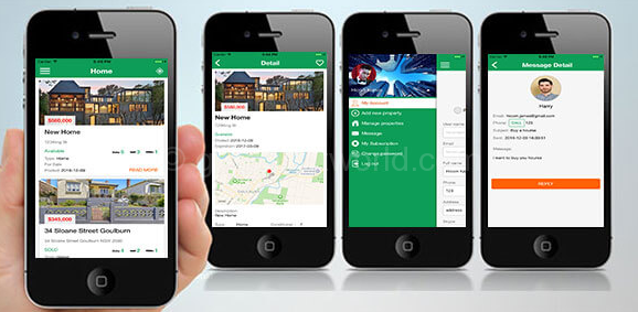Download Apartment Real Estate Android App Source Code Free