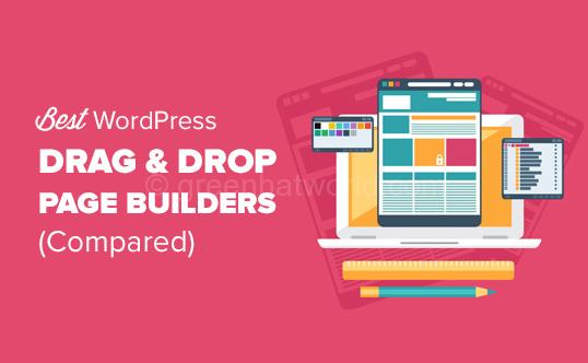 Drag & Drop Page Builder Plugin For WordPress