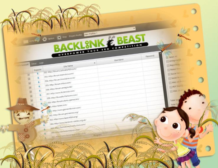 Backlink Beast 1.0.49 Software