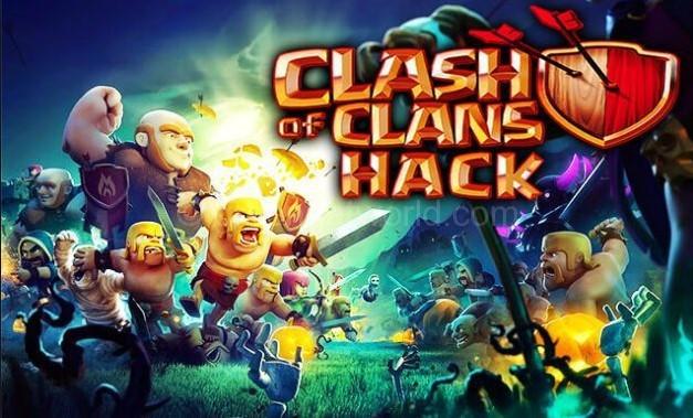 hacked clash of clans apk