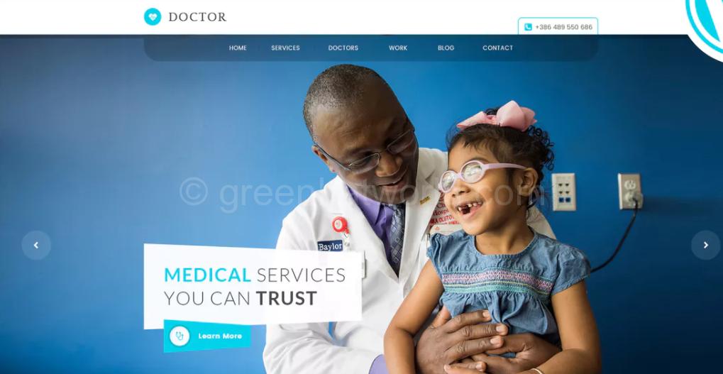 Medical Health WordPress Theme Free