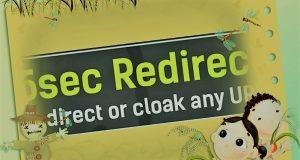 5 Sec Redirect WordPress Plugin
