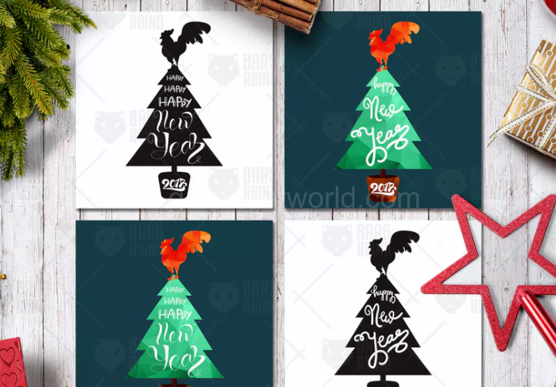 Download Free Happy New Year Greeting Poster