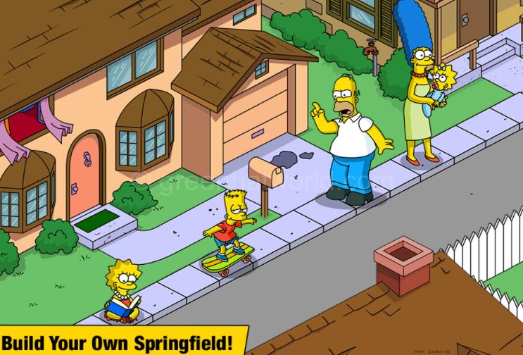 Download The Simpsons Tapped Out v4.30.0 Mega MOD APK