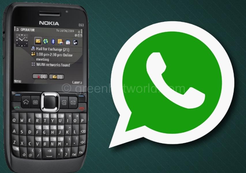 WhatsApp For Nokia E63