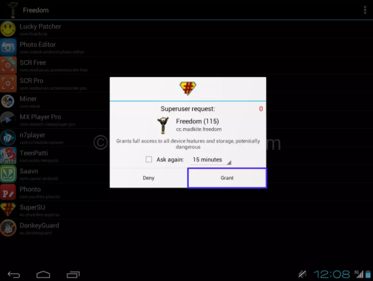 Freedom v1.7.4 APK Unlimited In-App Purchases Hack on Android