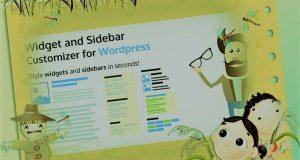 Widget and Sidebar Customizer Plugin for Wordpress