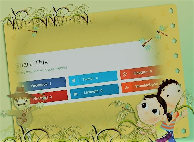 Wordpress Article Social Share Plugin