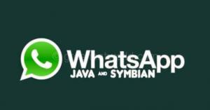 WhatsApp For Java Nokia