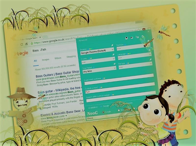 Download NooG web search bar