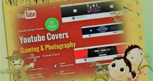 Download Youtube Banner Template PSD