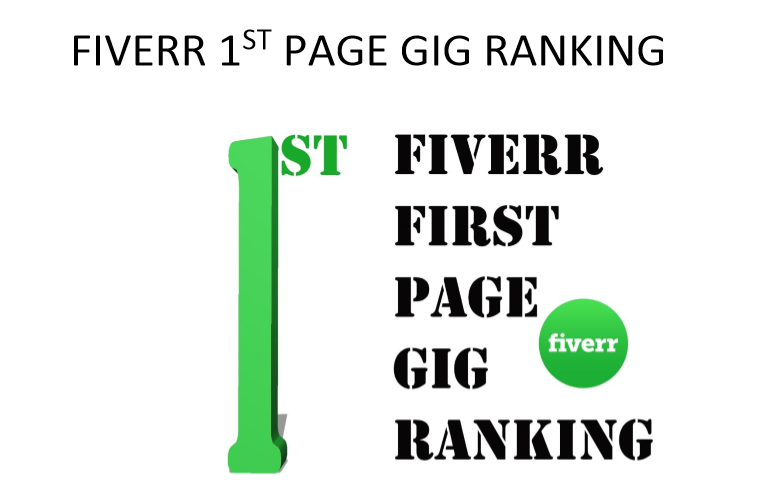 Fiverr page ranking